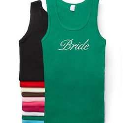 Crystal Bride Tank Top