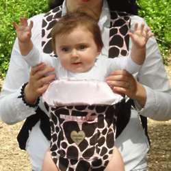 Ginny Giraffe Baby Carrier Slip Cover