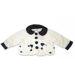 White Fuzzy Wear Lamb Jacket