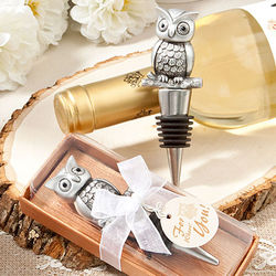 Owl Design Bottle Stopper