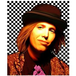 Tom Petty Limited Edition Pop Art