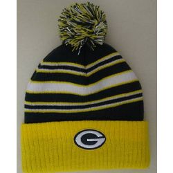 Packers Toddler Striped Knit Hat