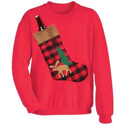 Christmas Stocket Pocket Sweatshirt