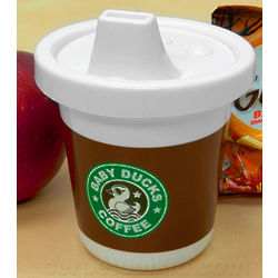 Baby Ducks Coffee Sippy Cup