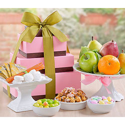 Fruit and Sweets Gift Tower