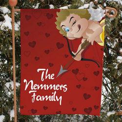 Cupid's Hearts Garden Flag