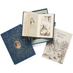 Alice's Adventures Under Ground Leather-Bound Book