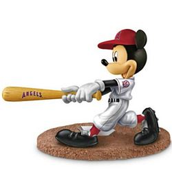 MLB Los Angeles Angels Home Run Hero Baseball Figurine