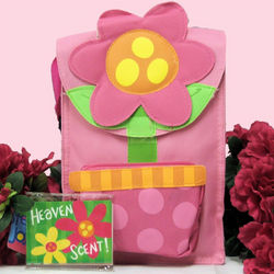 Girls Flower Snack Sac