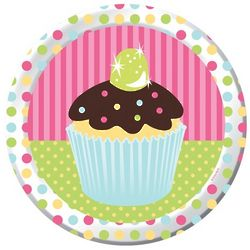 Sweet Treats Paper Dinner Plates