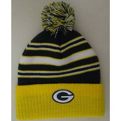 Packers Preschool Boy's Striped Knit Hat