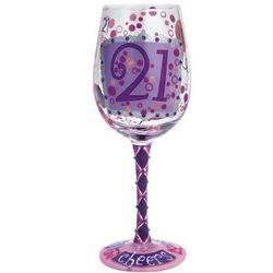 21 Wine Glass