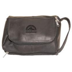 Colorado Rockies Deluxe Shaving Kit in Black Leather