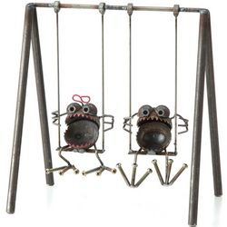 Gnome-Be-Gone Swing Set Sculpture