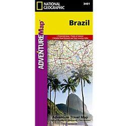 Brazil Adventure Map