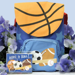 Sports Themed Snack Sac