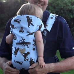 Little Boy Blue Baby Carrier Slip Cover