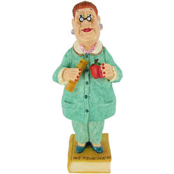 #1 Teacher Bobble Figurine