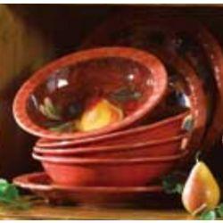 Tuscan Morning Pasta or Soup Bowls