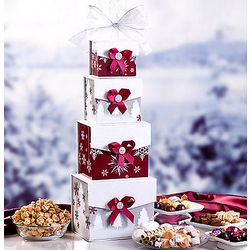 Popcorn and Candy Gift Tower