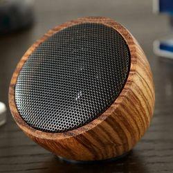 Rock on Wood Portable Bluetooth Speaker