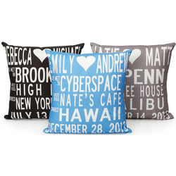 Personalized Custom Wedding Pillow