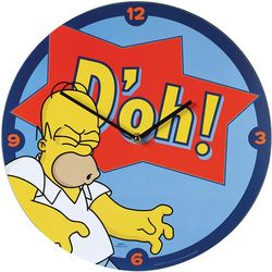 Homer Simpson Wall Clock