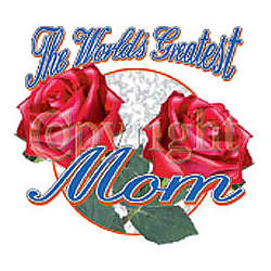 World's Greatest Mom Adult T-Shirt
