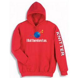 Red Knitter Hoodie