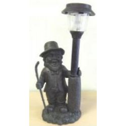 Solar Light Garden Leprechaun