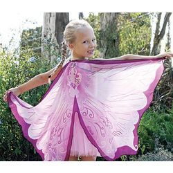 Fanciful Pink Fairy Wings