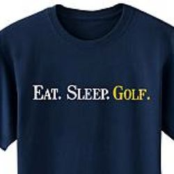 Green Medium Sized Personalized Eat Sleep T-Shirt