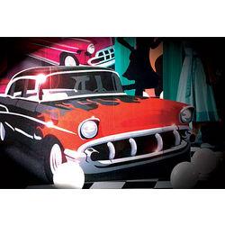 1950s Hot Rod Standee