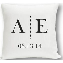 Personalized Couple's Love Pillow