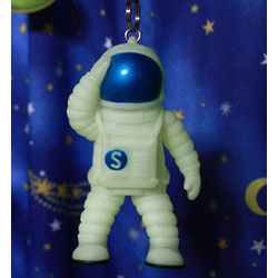 Glowing Astronaut Space Walker