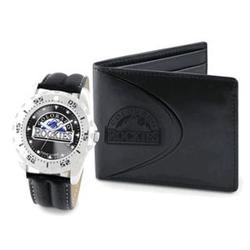 Colorado Rockies Watch and Wallet