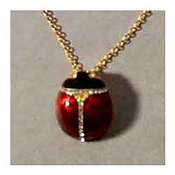Museum Collection Ladybug Pendant