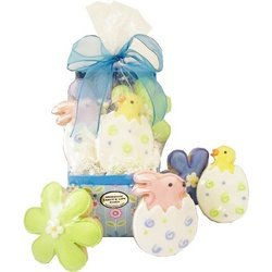 Easter Daisy Cookie Gift Box