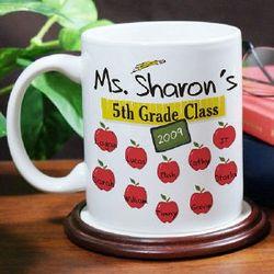 Personalized Teacher Coffee Mug