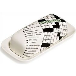 New York Times Crossword Puzzle Butter Dish