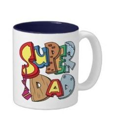 Super Dad Ceramic Coffee Mug