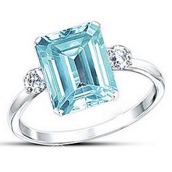 Aqua Allure Diamonesk Ring
