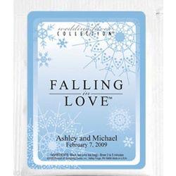 Falling In Love Snow Cascading Tea Wedding Favors