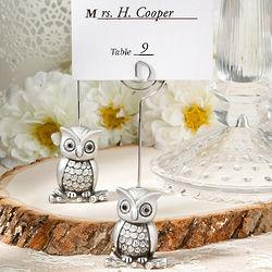 Little Owl Place Card Holder