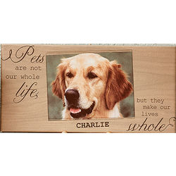 My Pet One Photo Personalized Canvas