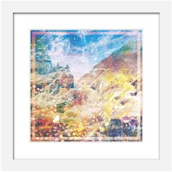 Hallucinogenic Landscape Art Print