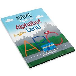 Alphabet Land Personalized Hardcover Book