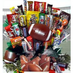 Touchdown Candy Bouquet