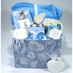 Oceans of Love Deluxe Gift Basket