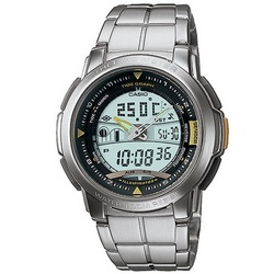 Casio Dual Display Sports Pathfinder Watch